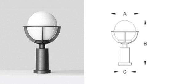 bega pfeilerleuchte glas pendelleuchte modern. Black Bedroom Furniture Sets. Home Design Ideas