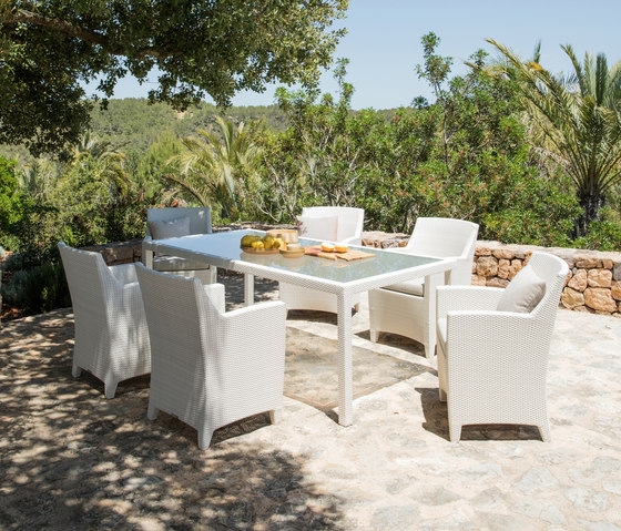 Barcelona Table dappoint de DEDON