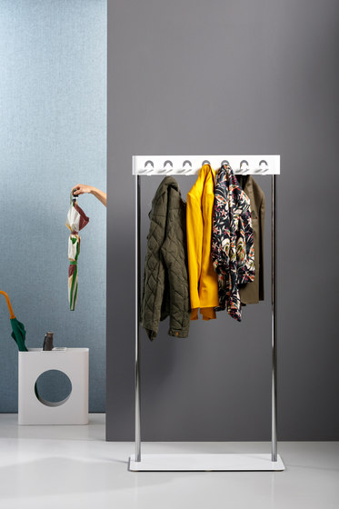 Flow Square coat stand by Cascando