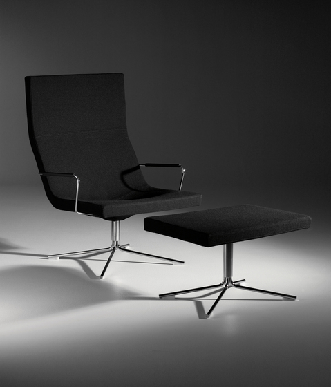 Bond armchair with castors di OFFECCT