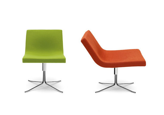 Bond armchair with castors by OFFECCT