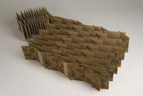 Kartonbett [Prototyp] von zhdk / Departement Design