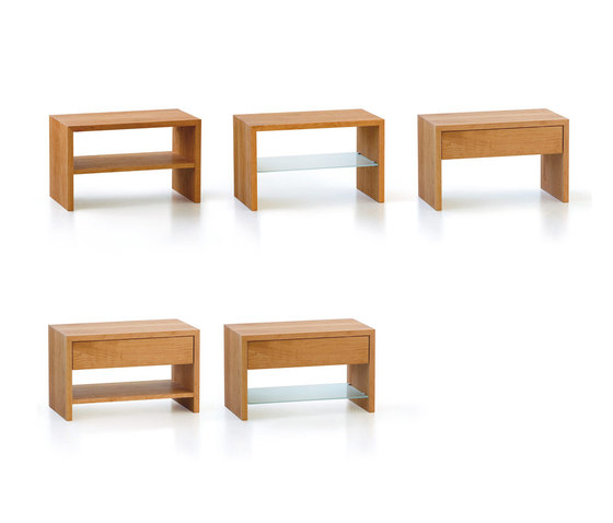 FLEX table de nuit de Holzmanufaktur