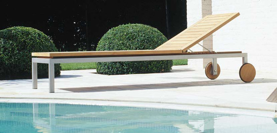 Natal Teak Bench by Tribù