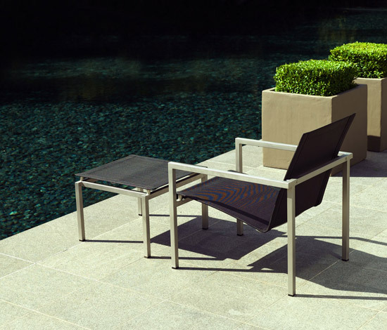 Natal Inox Lounger by Tribu