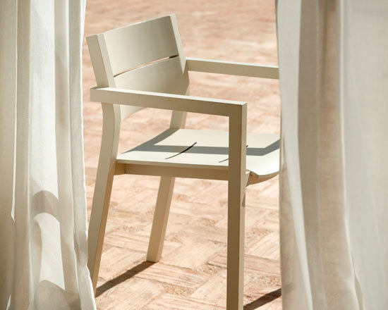Kos Laquered Armchair by Tribù