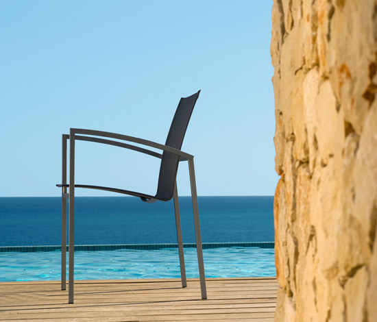Mystral Casual chair by Tribù