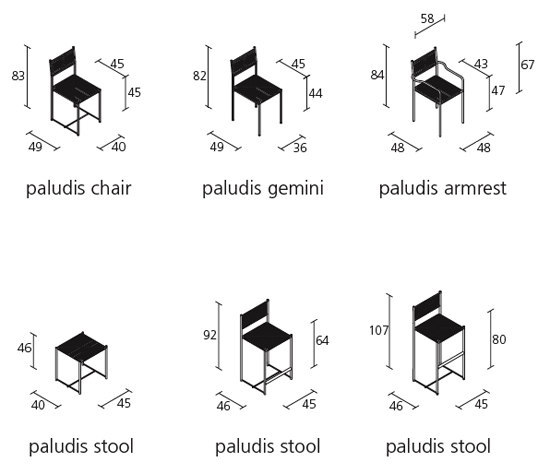 paludis stool 152 by Alias
