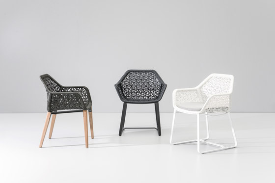 Maia dining armchair by KETTAL