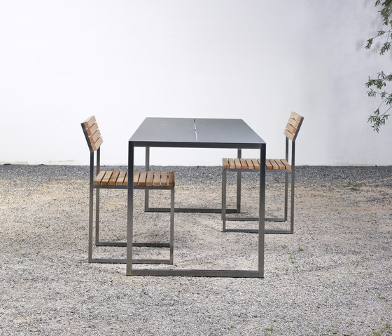 Table and Bench at_02 by Silvio Rohrmoser