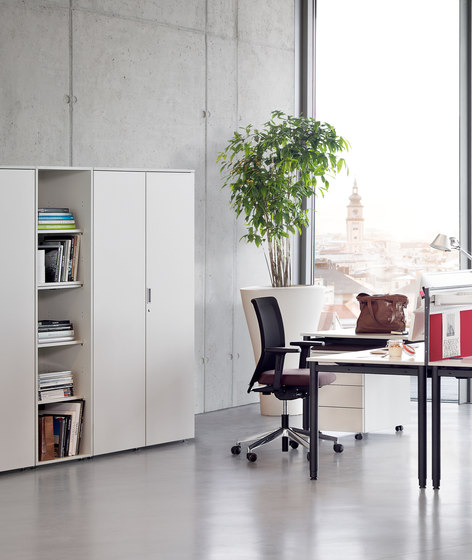 float fx   suspension file cabinet by Wiesner-Hager