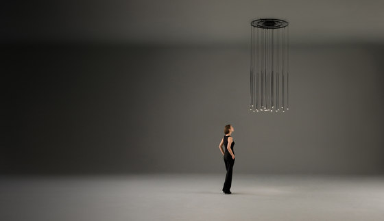 Slim 0914 Pendant lamp by Vibia