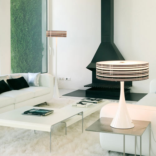 Code 2101 table lamp by Vibia