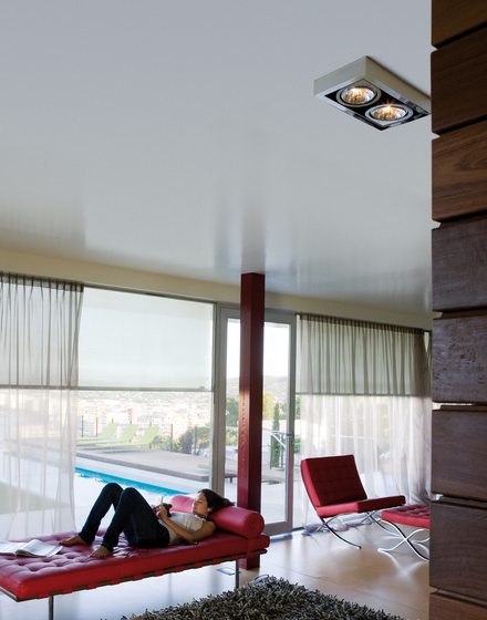 Corner 8116 ceiling lamp by Vibia