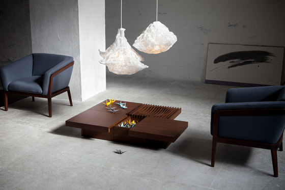 Barringer low table de Conde House