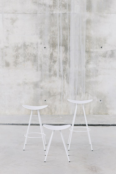 Coma Wood Stool by ENEA