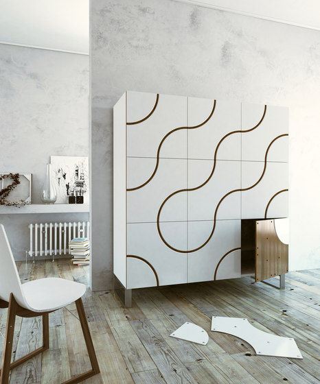 Infinity cupboard de CASAMANIA-HORM.IT