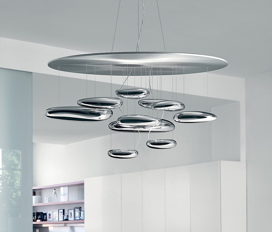 Mercury suspension lamp by Artemide