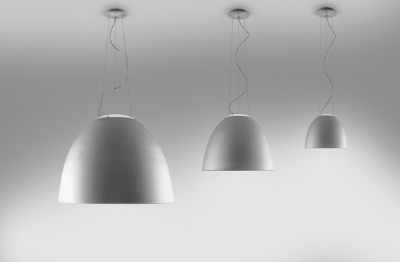 Nur Gloss Mini Suspension Lamp by Artemide