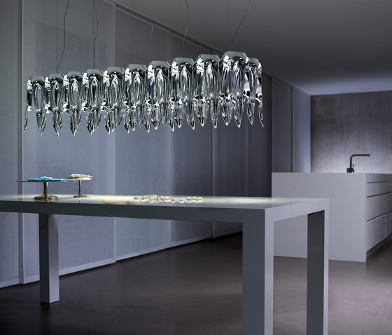 LQ - Chandelier LED di Zumtobel Lighting