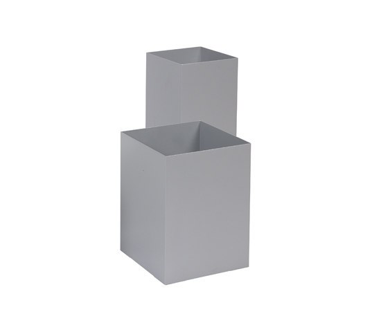 Square umbrella stand by Cascando