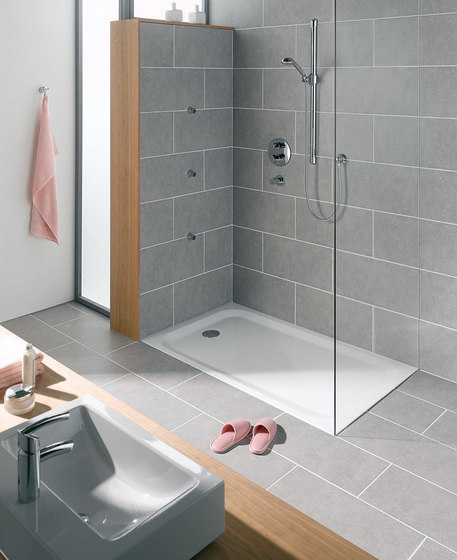 BetteReceveurs de douche plats de Bette