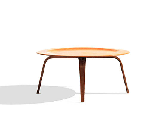 Eames Molded Plywood Coffee Table By Herman Miller Product