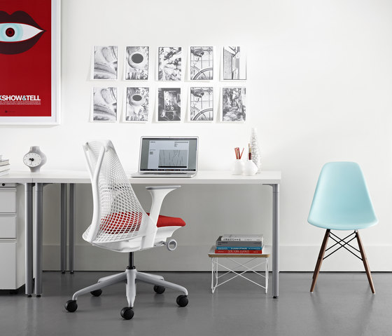 Eames Wire Base Low Table by Herman Miller