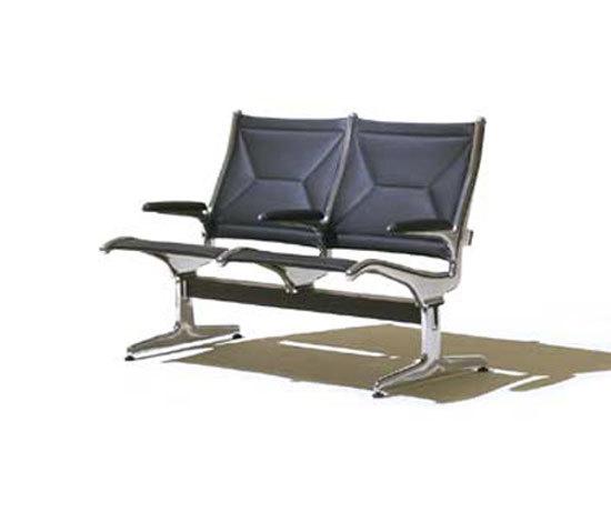 Eames Tandem Sling Seating by Herman Miller