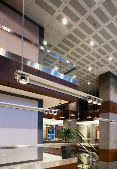 Diapason Kwadro Recessed Ceiling by Kreon