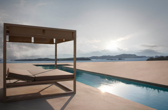 Daybed | Daybed Reclining Fixed Slat by GANDIABLASCO