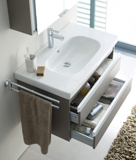 Ketho - Vanity units with integrated console by DURAVIT