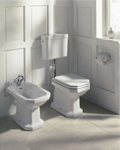 bidet wallmounted by duravit