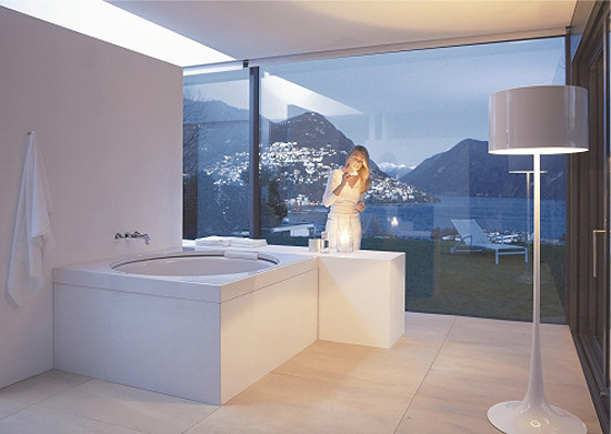 Blue Moon - Bathtub square by DURAVIT