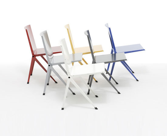 Mondial Chair di Rietveld by Rietveld