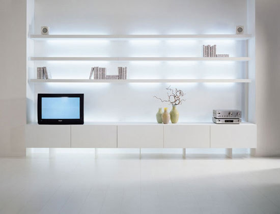 New Concepts Shelving units by Acerbis