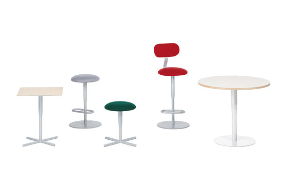atlas small table F1 by Alias