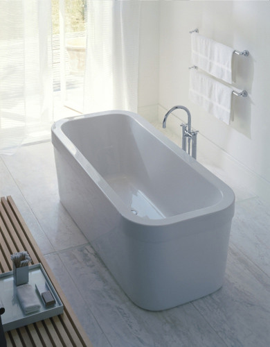 happy d tubs by duravit happy d bathtub product. Black Bedroom Furniture Sets. Home Design Ideas