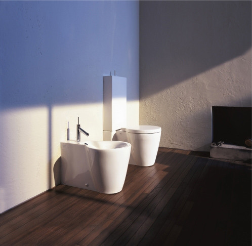 starck 1 bidet bidets from duravit architonic. Black Bedroom Furniture Sets. Home Design Ideas