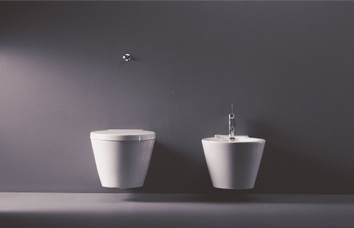 Starck 1 - Toilet, close-coupled by DURAVIT
