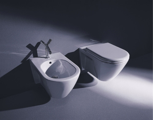 Starck 2 - Toilet, close-coupled by DURAVIT