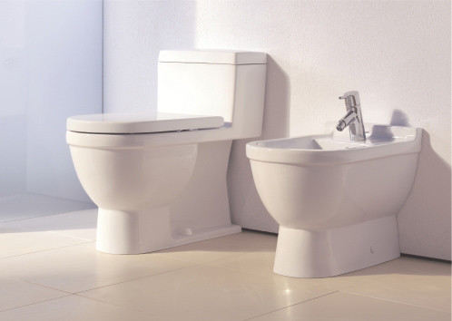 Starck 3 - Toilet, close-coupled by DURAVIT
