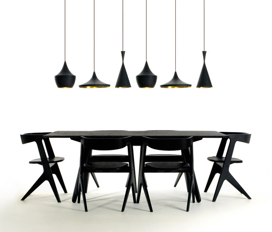 Beat Wide Black by Tom Dixon
