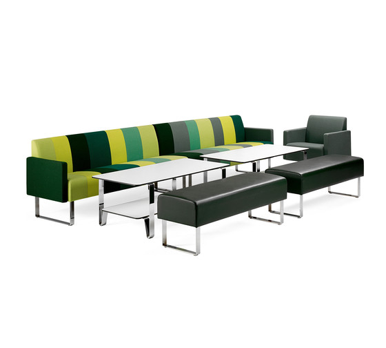 Monolite 6-seater sofa by Materia