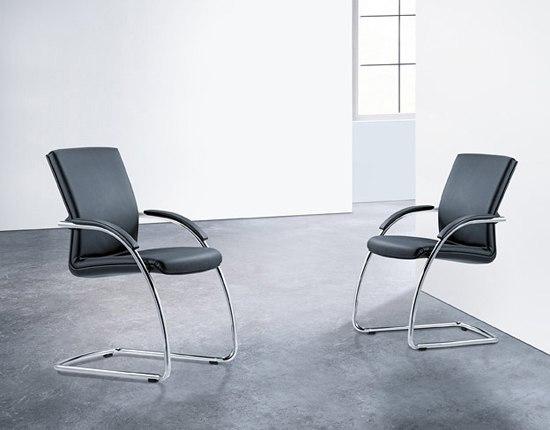 GIRSBERGER 3000 Cantilever chair by Girsberger