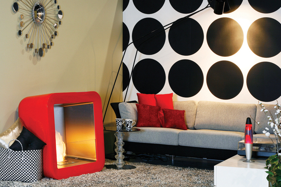 Retro by EcoSmart™ Fire