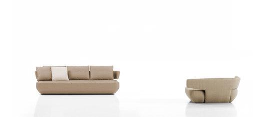 Levitt armchair von viccarbe