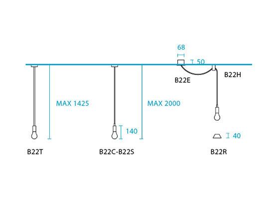U-Line B22C+B22R de Light