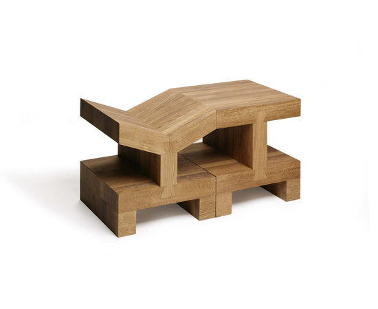 Small Square Side table by Gelderland
