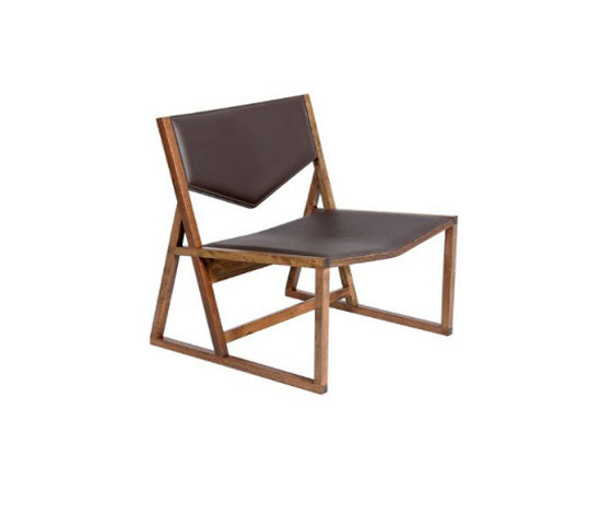 Pipa lounge chair di Schuster